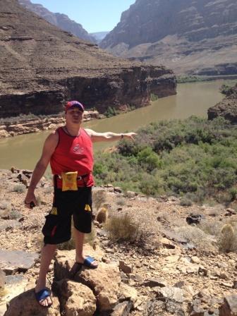 великий каньон под Лос-Вегасом