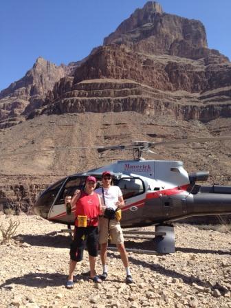 Путешествие в каньон на вертолете Мустанг