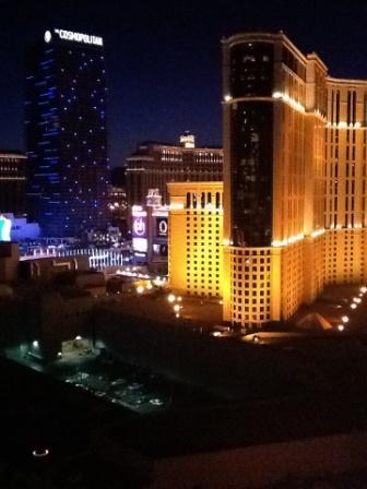 Лос-Вегас ночью